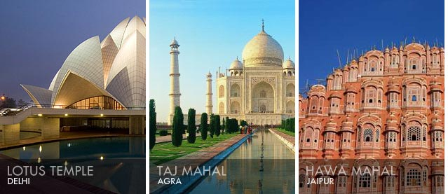 What is golden triangle for traveler in india